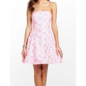 Lilly Pulitzer Jordan Strapless Dress Size 6